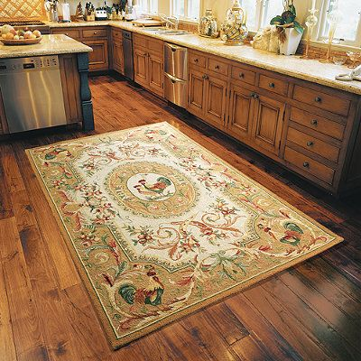Rooster Easy Care Rug Rooster Decor Rooster Kitchen
