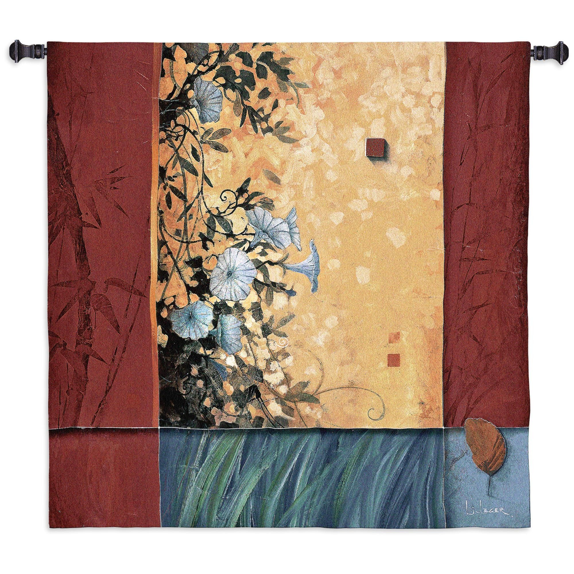 Artist\'S Garden Large Wall Tapestry | Wall tapestries, Tapestry and ...