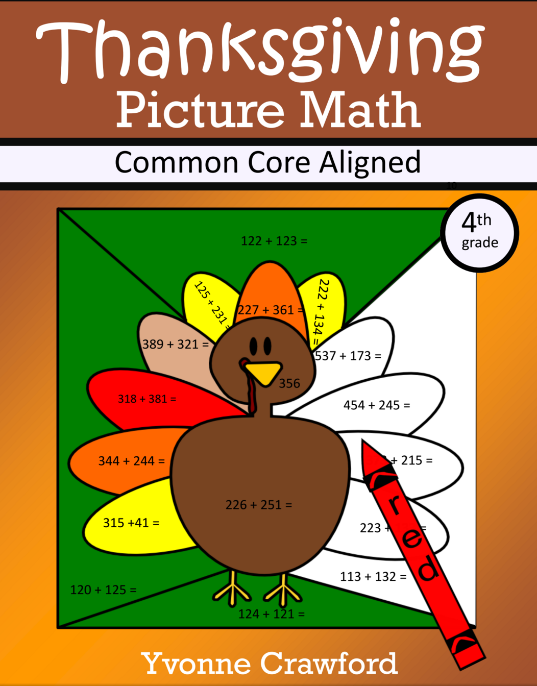 Thanksgiving Color by Number is a packet of 12 different worksheets ...