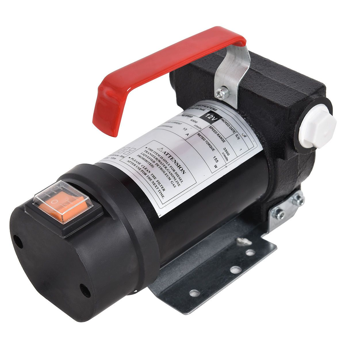 155 W Electric Diesel Oil and Fuel Transfer Extractor Pump