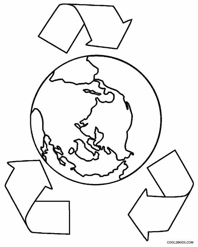 printable earth coloring pages for kids cool2bkids - Earth Coloring Page