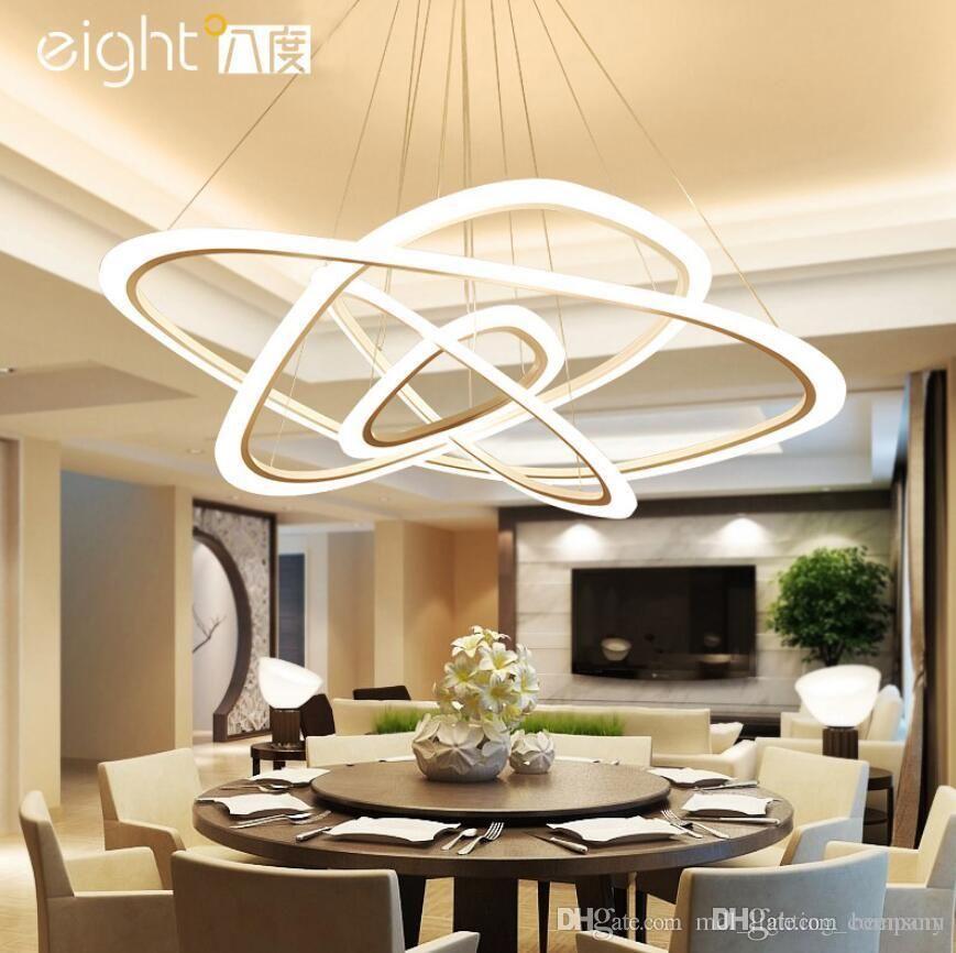 LED Chandelier Loft Illumination Nordic Suspension Luminaire
