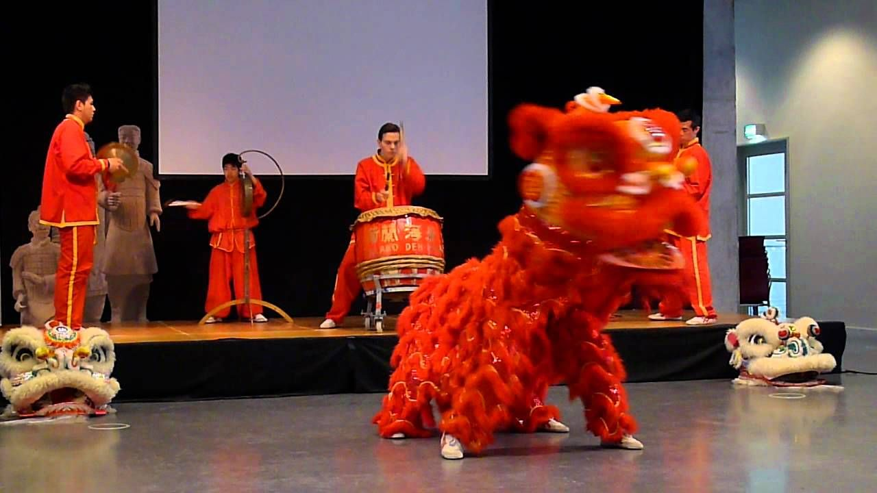 Chinese Lion Dance. The lion dance is a traditional