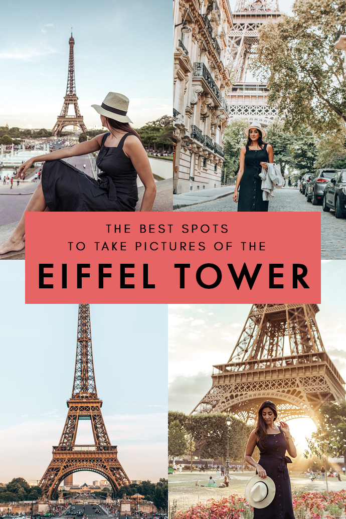 Best Places To Take Photos Of The Eiffel Tower (By A Travel Photographer) #eiffeltower
