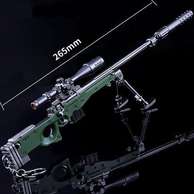 Pubg Weapon Sniper Rifle Awm Keychain Accessory In 2018 Sci Fi
