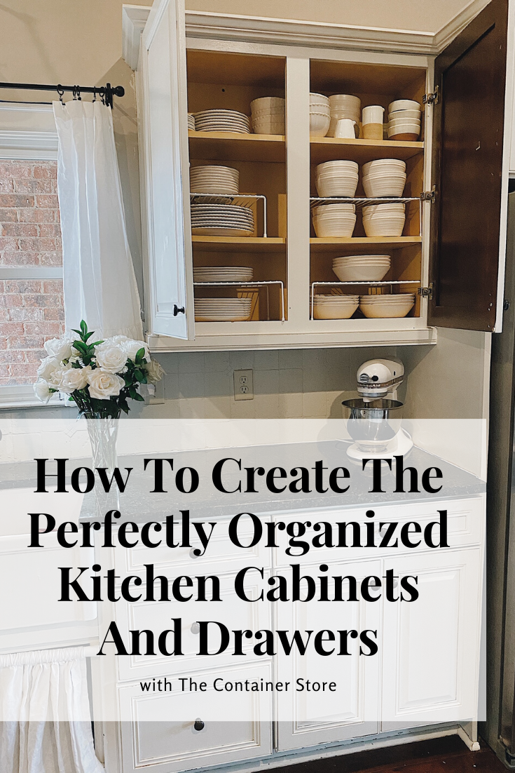 How To Create The Perfectly Organized Kitchen Cabinets And Drawers - She Gave It A Go -   19 diy Kitchen decorating ideas