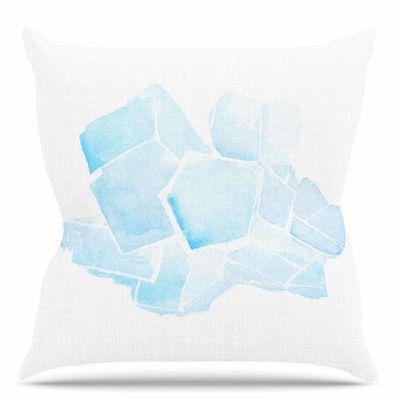 """East Urban Home Quartz Throw Pillow Size: 16"""" H x 16"""" W x 6"""" D"""