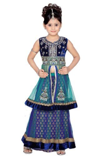 e9b29671be088 Indian Party Wear Dresses For Little Girls | ethnic indian clothes ...