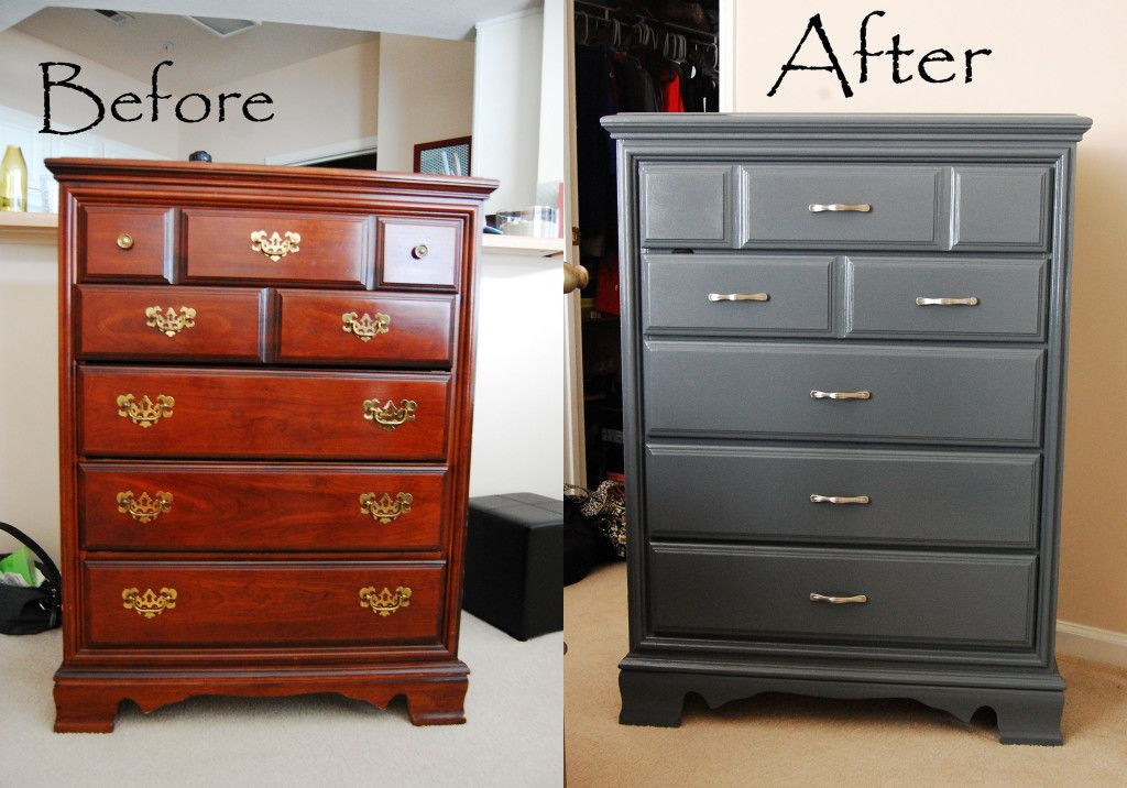living on saltwater furniture painting before after