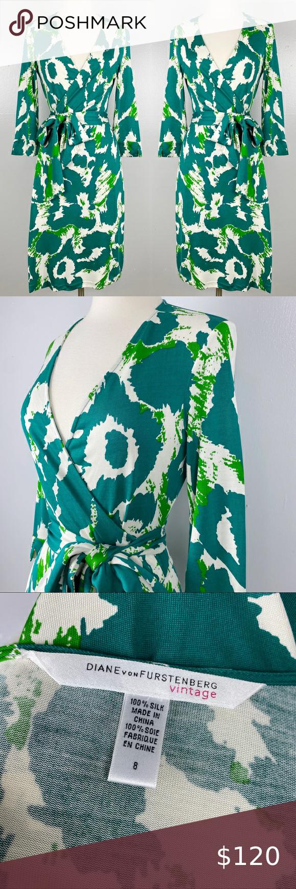 Vintage Diane Von Furstenberg Silk Wrap Dress Silk Wrap Dresses Wrap Dress Diane Von Furstenberg [ 1740 x 580 Pixel ]