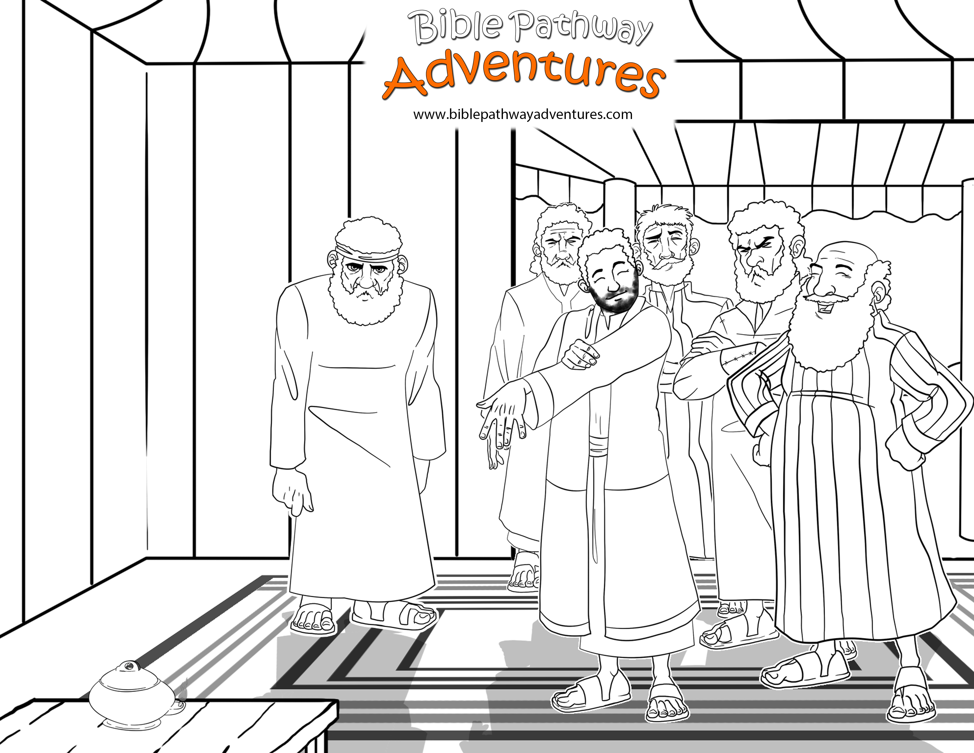FREE Bible Activities for Kids | Dibujo
