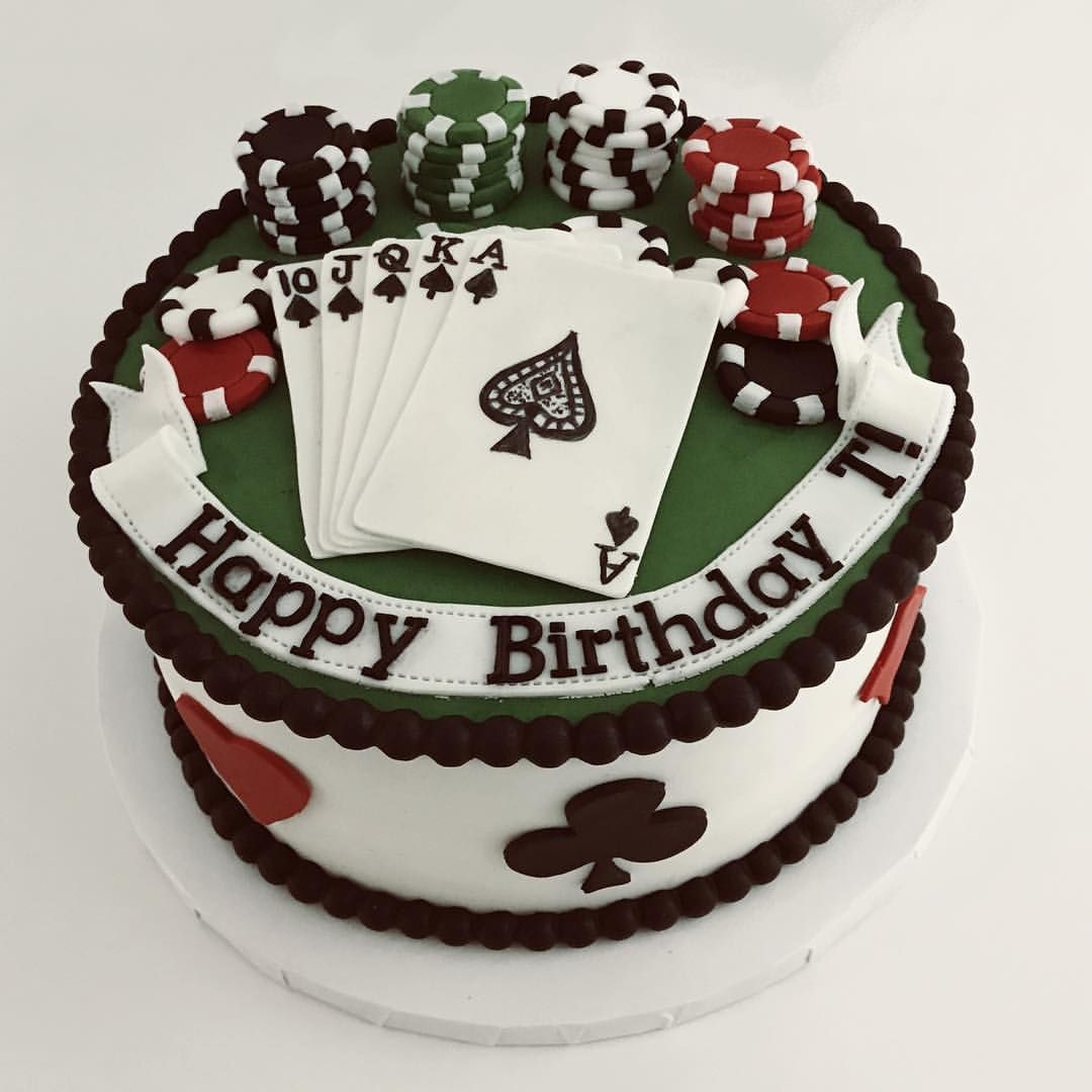 Remarkable Tag Someone Who Loves Poker Casino Cakes Poker Cake Dad Funny Birthday Cards Online Unhofree Goldxyz