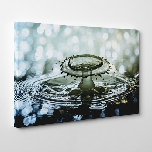 Big Box Art Drop Of Water Rain Graphic Art On Canvas Canvas Art Art Canvas Prints