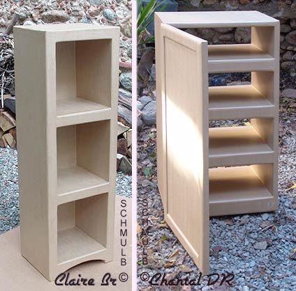 meuble colonne et placard rectiligne en
