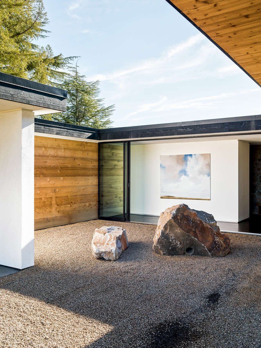 Oak knoll residence by atelier jørgensen architecture