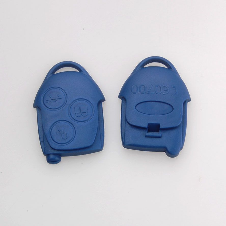 Bbq Fuka Replacement Transit Connect 3 Buttons Blue Blank Remote