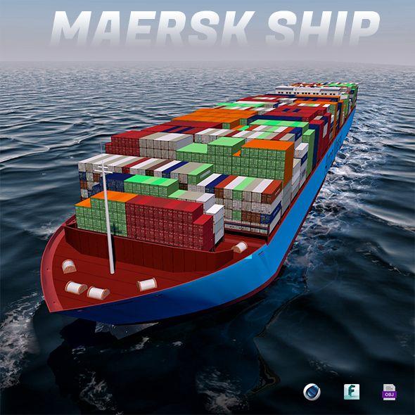 Cargo Ship Wake