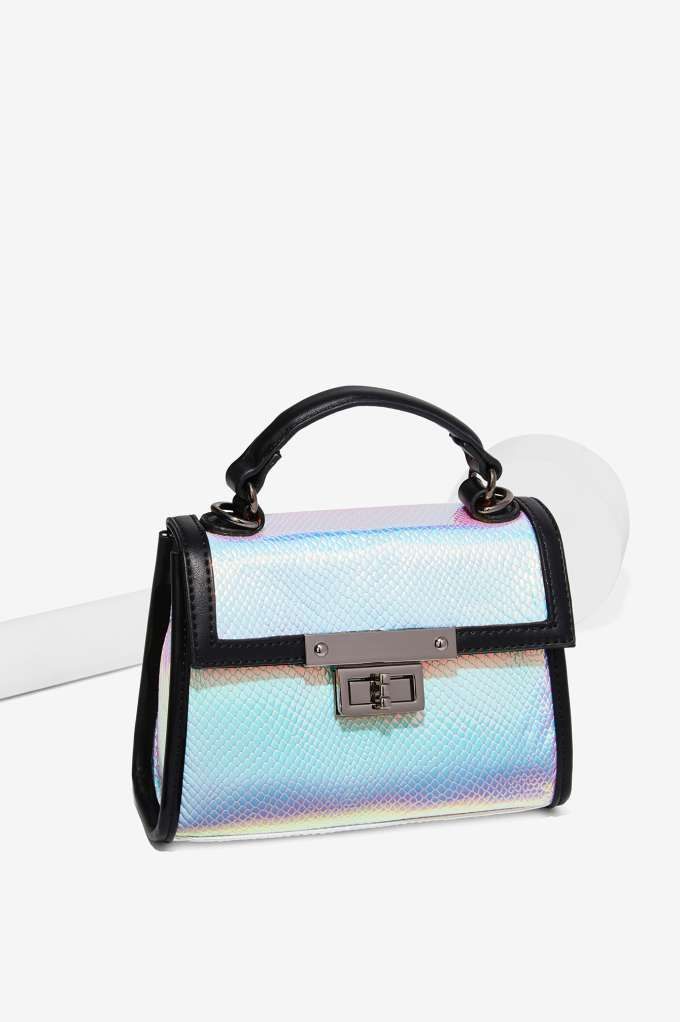 Nasty Gal x Nila Anthony Hologram At Me Bag - Bags + Backpacks ... 44cf7107944da