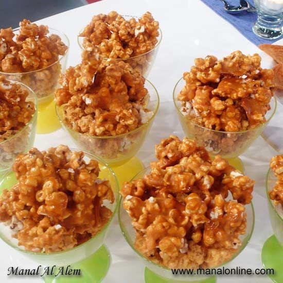 Caramel Popcorn Cuisine Pop Corn Desserts