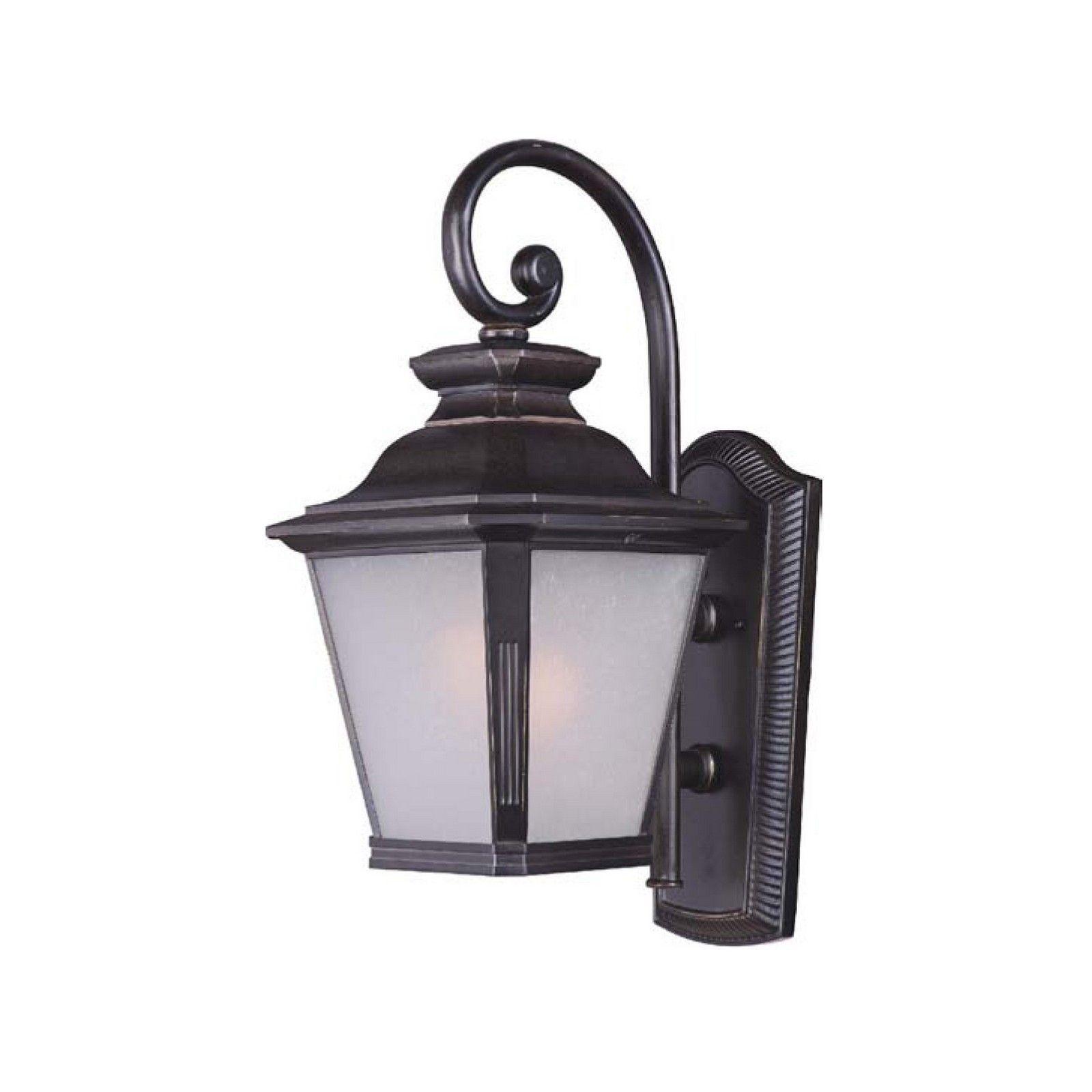 Maxim bronze shade knoxville light outdoor wall mount light