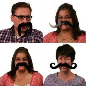 "Long 25/"" Brown Beard Hillbilly Farmer Costume Accessory Old Men Redneck Prop New"