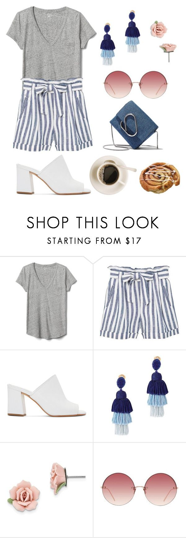 """Thursday"" by piedraandjesus on Polyvore featuring moda, Gap, MANGO, Maryam Nassir Zadeh, Oscar de la Renta, 1928, Linda Farrow y 3.1 Phillip Lim"