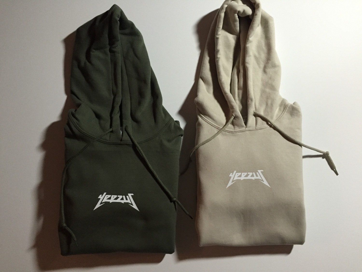 ff07cb00b2716 KANYE WEST YEEZUS NEW LOGO HOODIE in Clothes