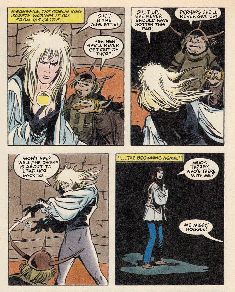 Labyrinth Movie - Marvel Comic Adaptation - 1986 #labyrinth #marvel #crossover