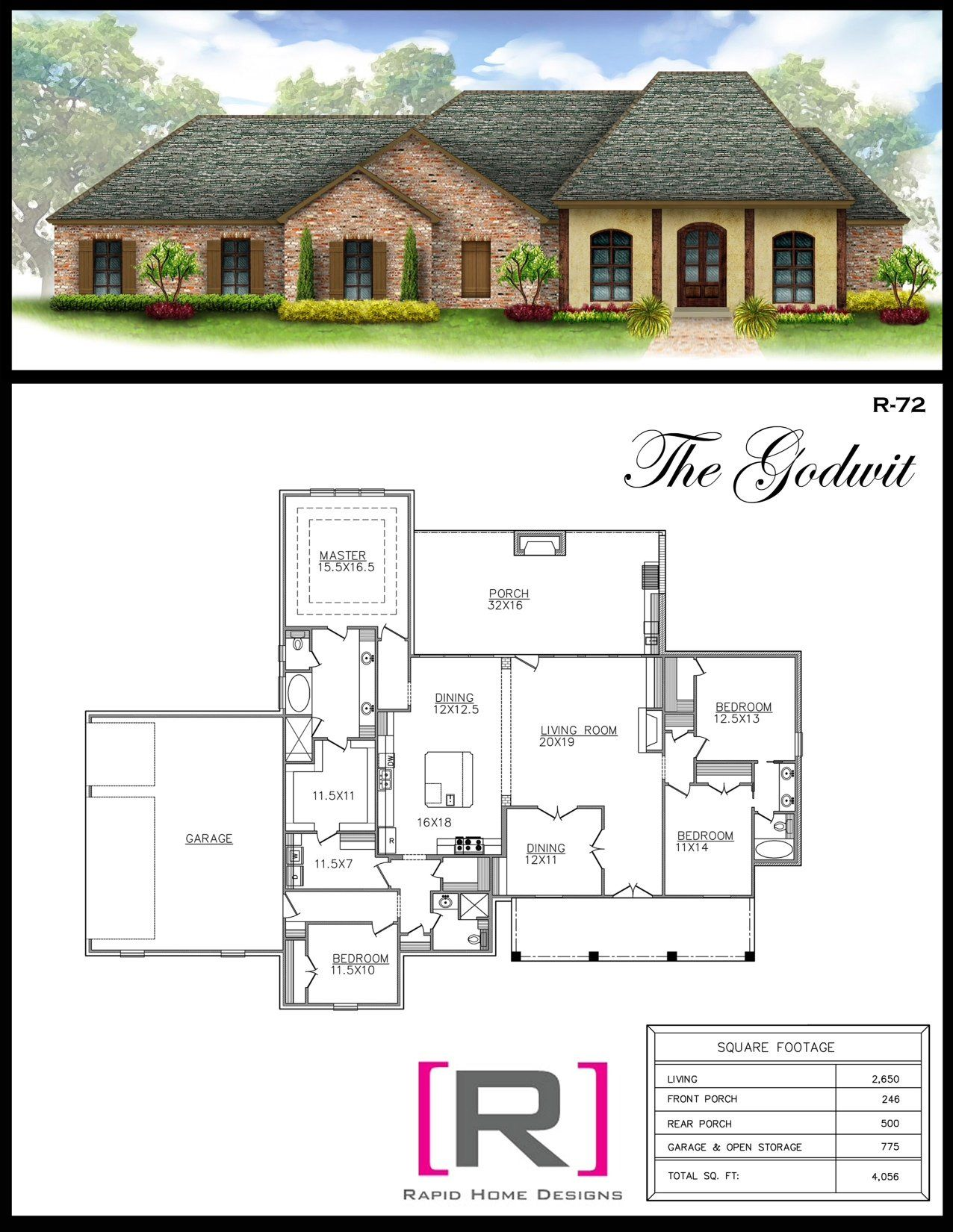 The Godwit 2650sf Modern Architecture Design New House Plans Dream House Plans