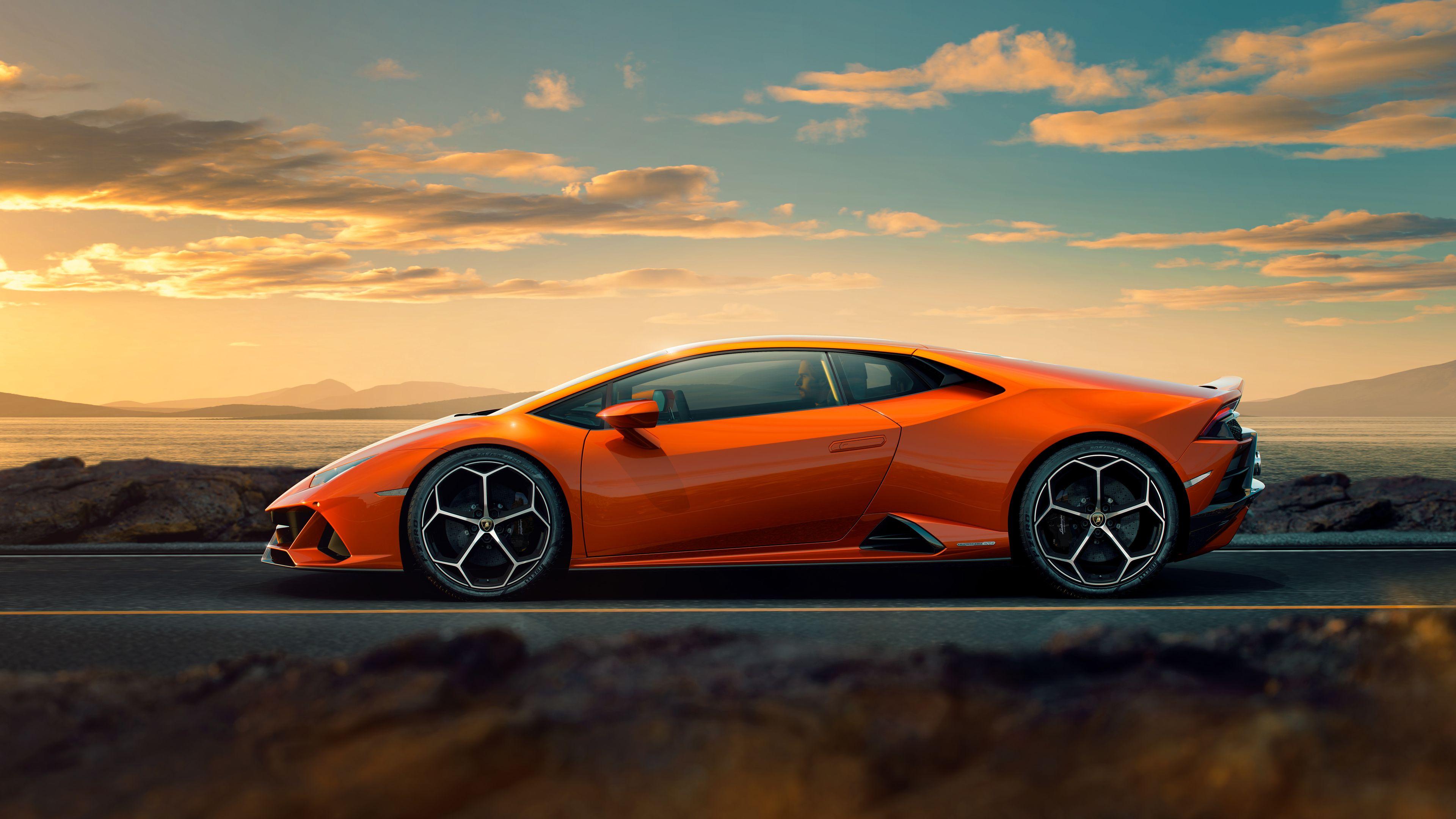 2019 Lamborghini Huracan Evo Lamborghini Huracan Car Side View Lamborghini Cars