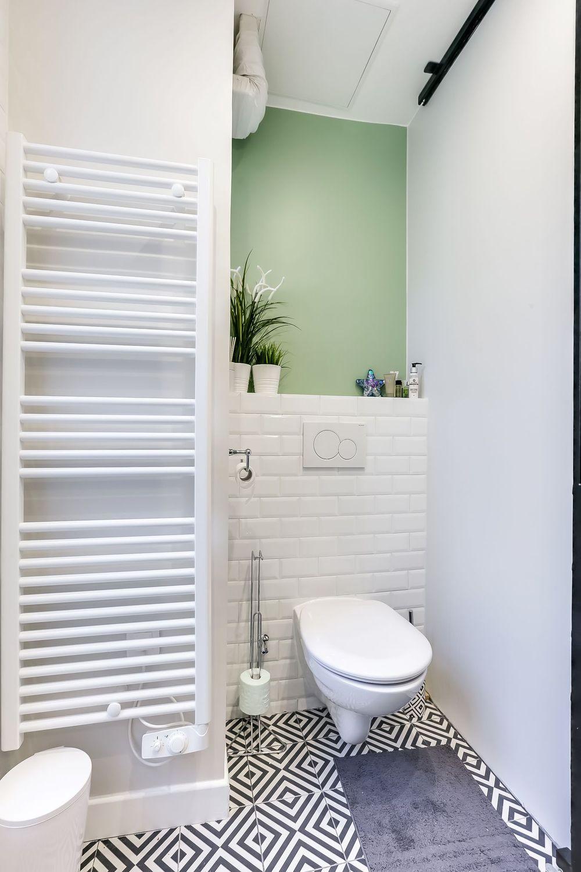 Créer Une Salle D Eau appartement paris 15 : créer une salle de bains dans 35 m2