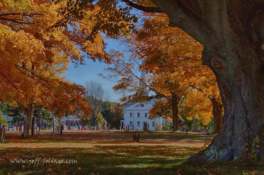 Hanovermassachusetts new england fall foliage fall