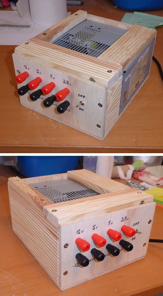 A Simple Bench Variable Power Supply | DIY | Diy electronics