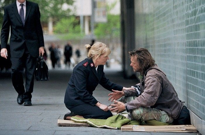 I admire the Salvation Army for helping the homeless ...