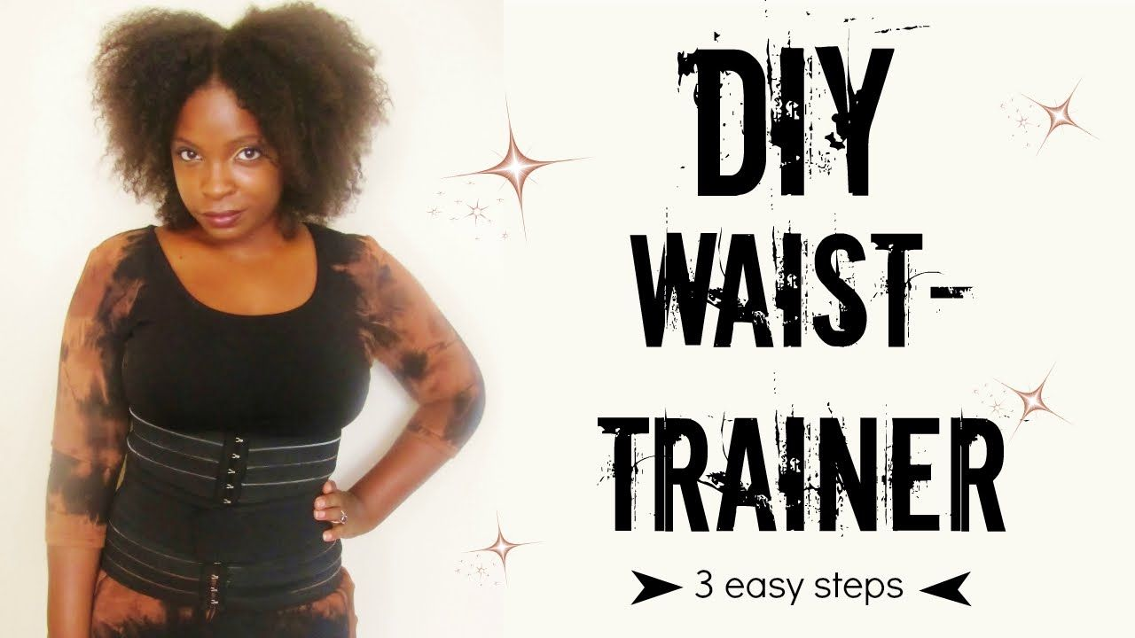 Diy Waist Trainer Craft Diy Hand Made Diy Waist Trainer Diy