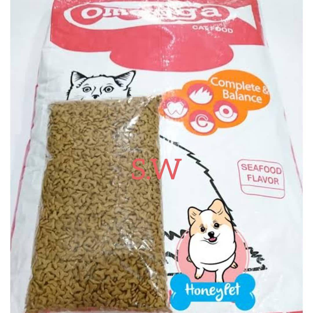 Omegga Makanan Kucing Alias Cat Food Repacking 1kg Harga 24rb Kg Beli Min 10kg Jadi 23 Kg Langsung Dikirim Ke Daerah Medan Mall C Cat Food Flavors Seafood