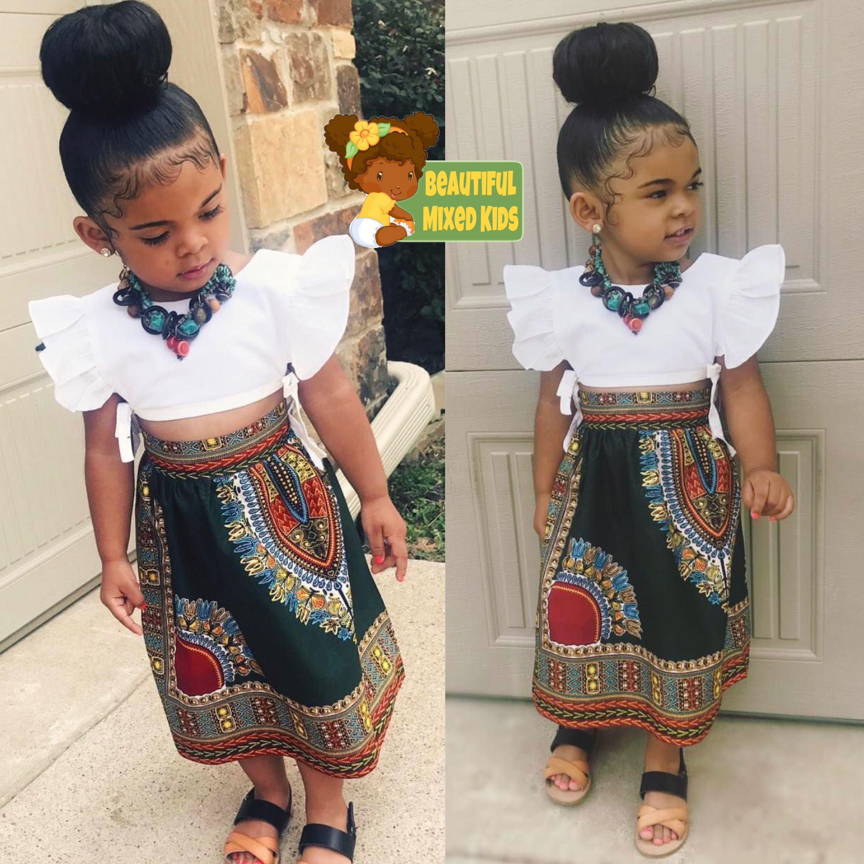 Kynlee 2 Years • Mom African American • Dad German ♥ FOLLOW