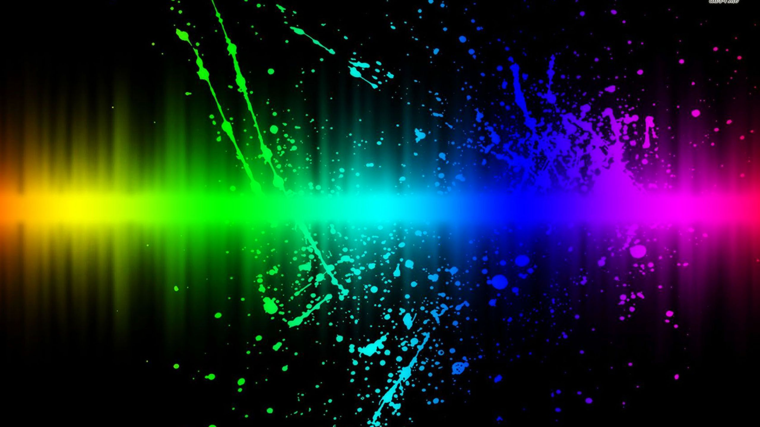 rainbow splash - http://1080wallpaper.net/rainbow-splash.html ...