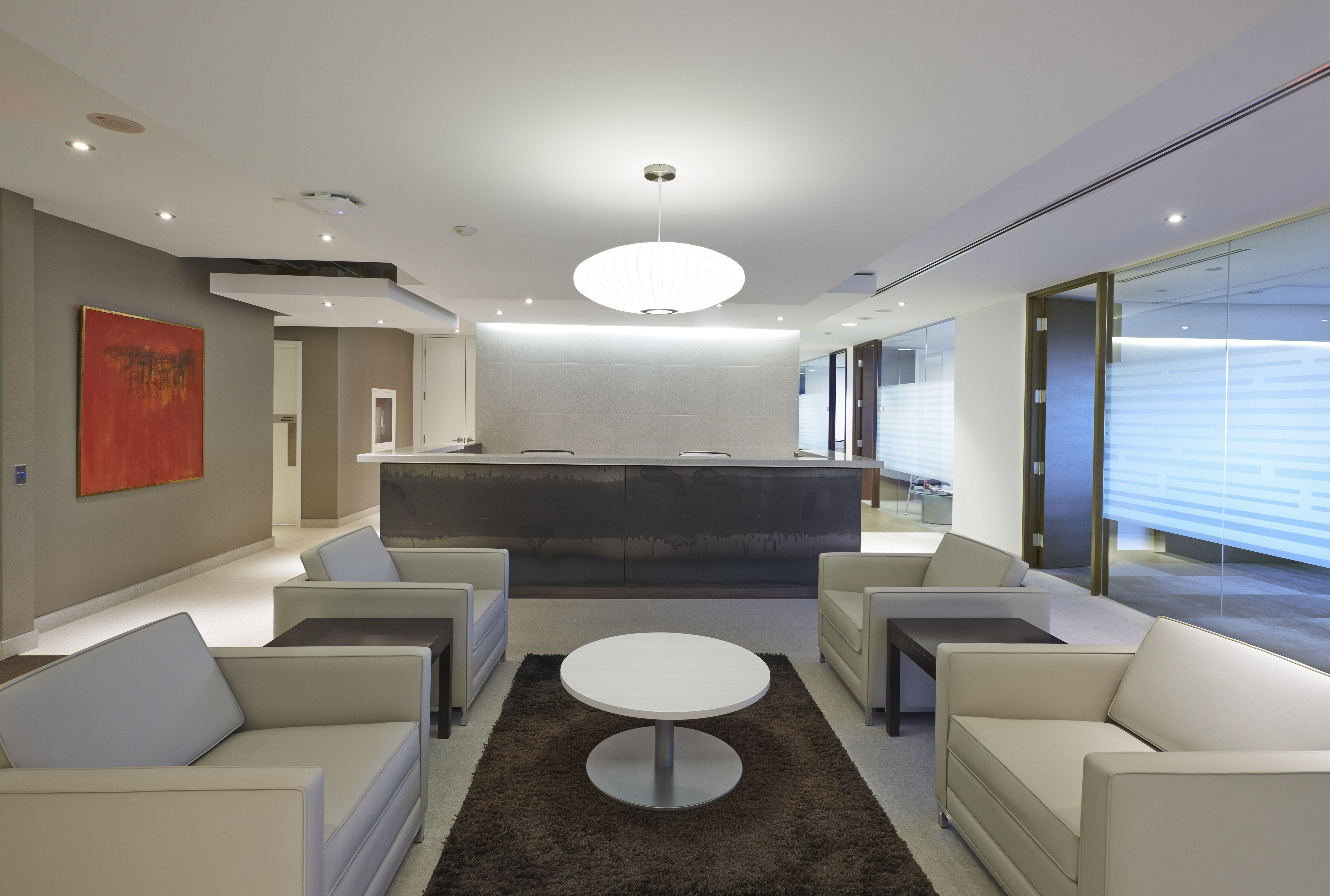 Reception Design. Post Media. Designed by SDI Interior Design.