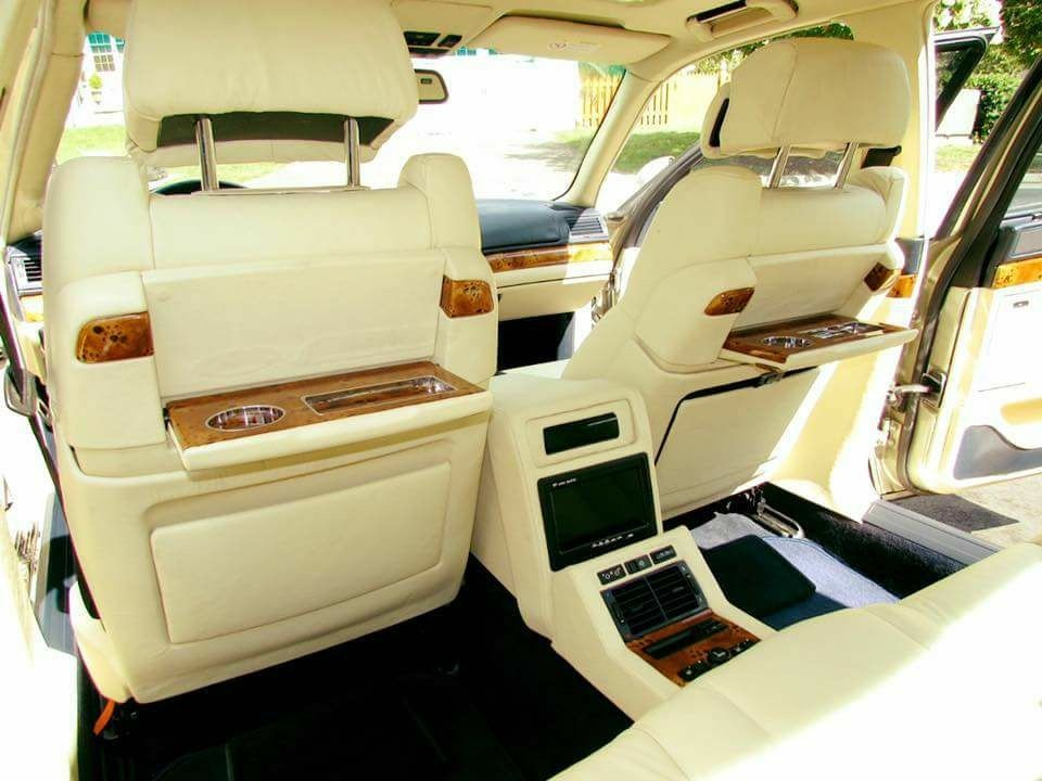 Bmw E38 Individual Interior With Rear Tv And Vhs Bmw E38 Bmw