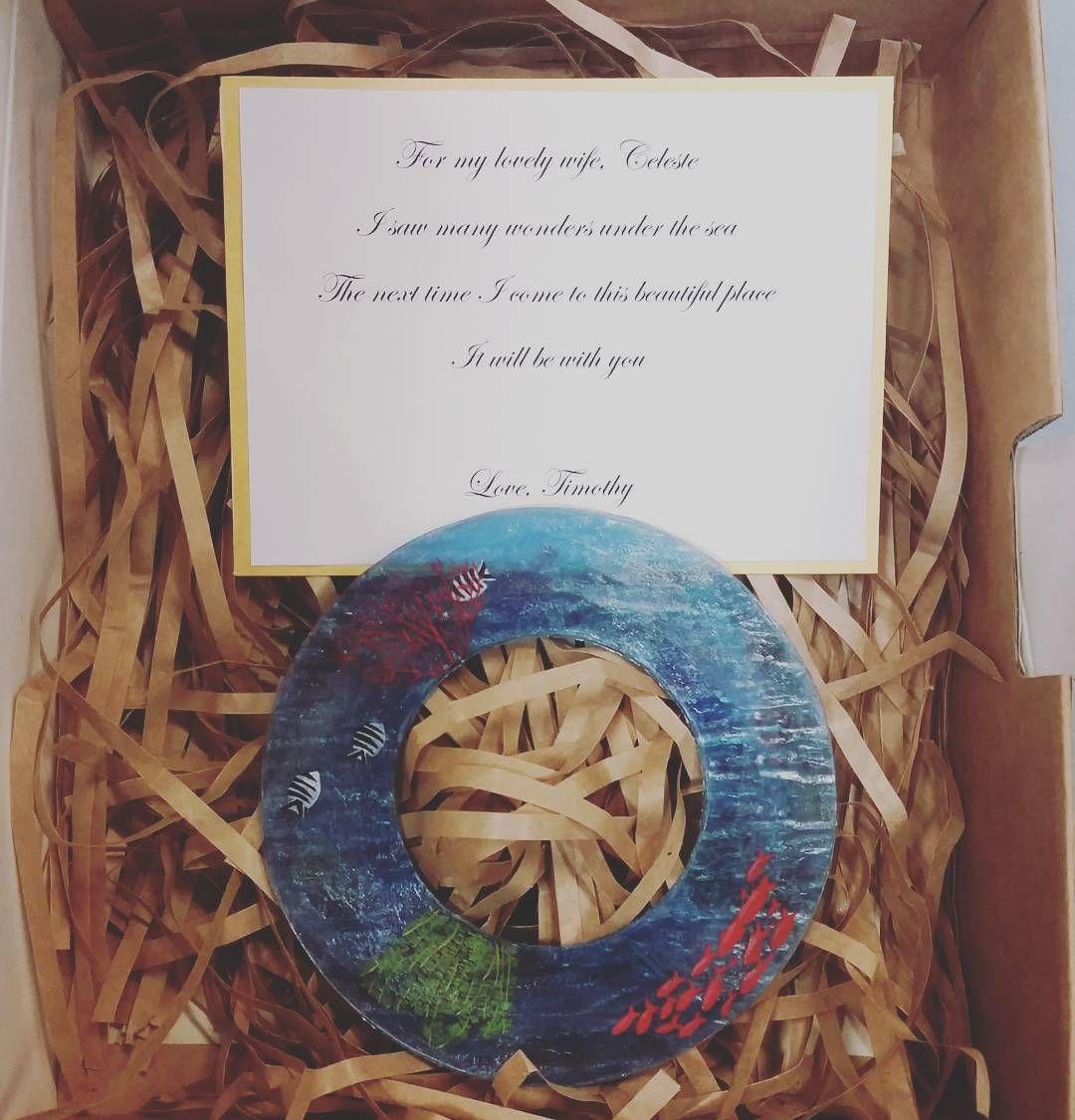 Souvenir project for jewellery design class. #jewelry #bracelet #greatbarrierreef #marine #gift #souvenir #scubadiver #underwater by lillianlilz09 http://ift.tt/1UokkV2