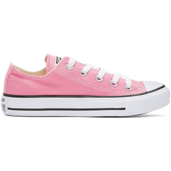 ff96e600f84138 Converse Pink Classic Chuck Taylor All Star OX Sneakers