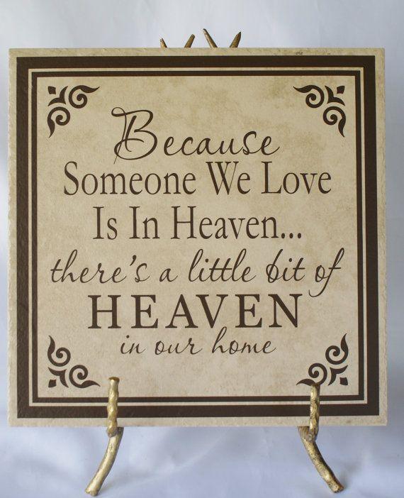 Memorial Plaque   Loss Of Loved One   Sympathy Gift   Someone We Love Dies    Sympathy Plaque   Condolence Gift   Family Memorial   Memorial