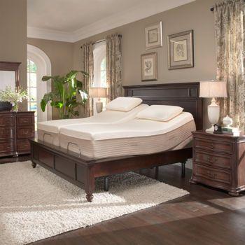 Ara 13 split king memory foam mattress with adjustable - Bedroom sets for adjustable beds ...