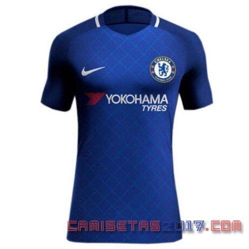 Chelsea 2017 temporada 2018, la exposición de la camisetas | Camiseta  Chelsea 2017 2018 Primera