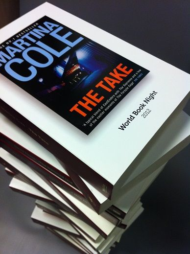 The World Book Night edition of Martina Cole's The Take