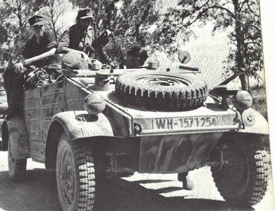 Great front end detail photo of this VW Type 82 Kubelwagen | Volkswagen Variants Of Hitlers War ...