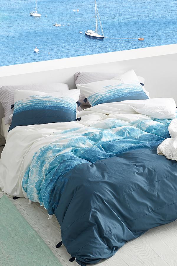 Ombre Twilight Twin Xl Duvet Cover Ocean Depths Teal Teal Duvet Luxury Bedding Blue Duvet Cover
