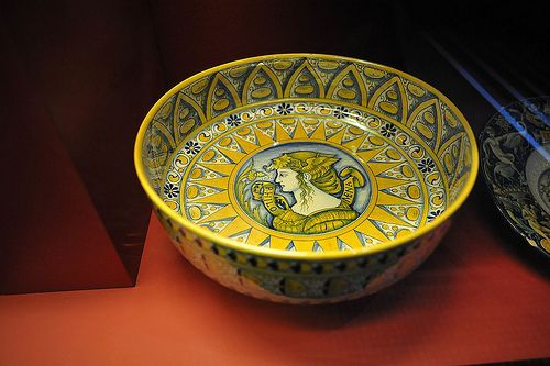 Maiolica Bowl Italian Ceramics Bowl Pottery