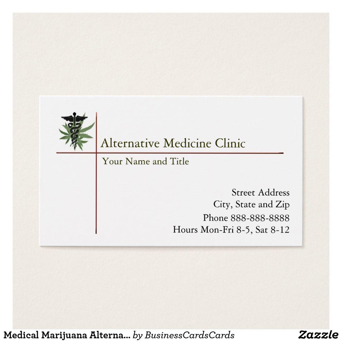 Medical Marijuana Alternative Medicine Doctor Physician Custom Check ...